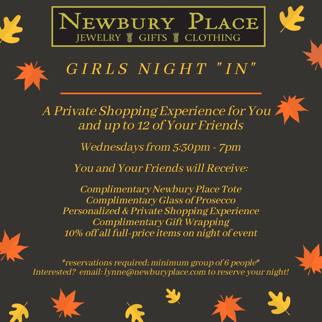 newburyplace girlsnightin