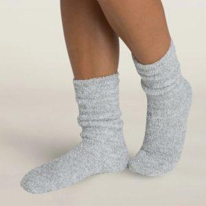 2306 Cozychic Heathered Socks Blue Water White
