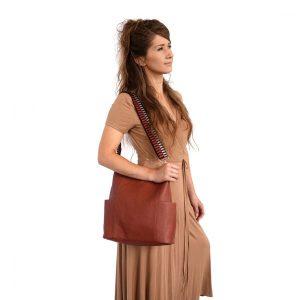 2844 Kayleigh Bucket Bag Spice 2