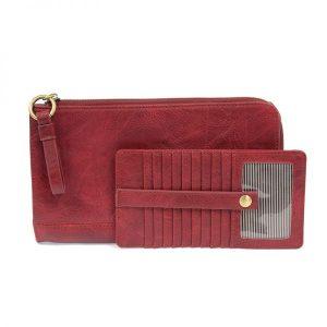 3586 Karina Conv Wristlet Wallet Magenta 2