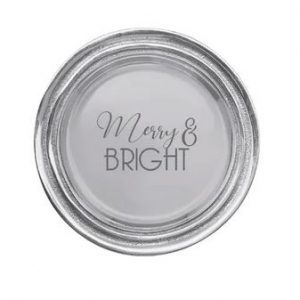 3702 Merry Bright Wine Plate