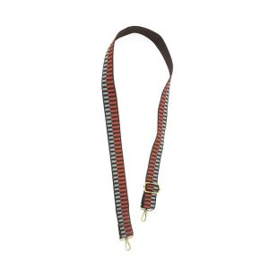 3960 Embroidered 1 12in Strap Brown Ladder